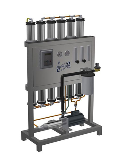 Reverse osmosis filtration device